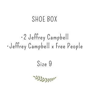 Shoe box , Jeffrey Campbell, Free people